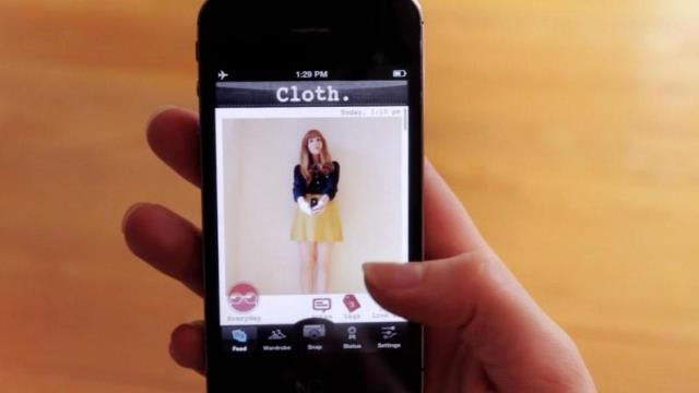 Cloth-iphone-app