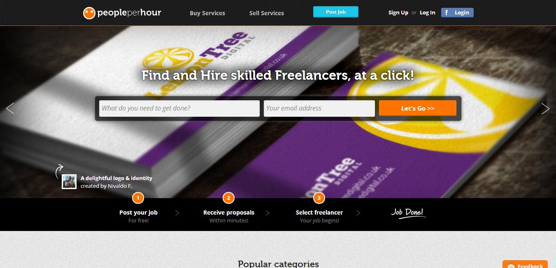 Conoce PeoplePerHour, la plataforma mixta para trabajar freelance