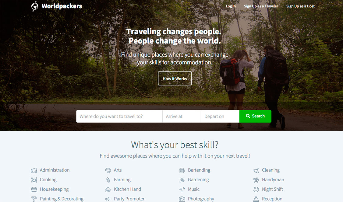 #IdeaFreelance 8: Viaja y trabaja usando WorldPackers