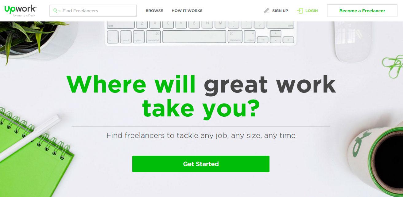 Trabaja freelance a través de Upwork