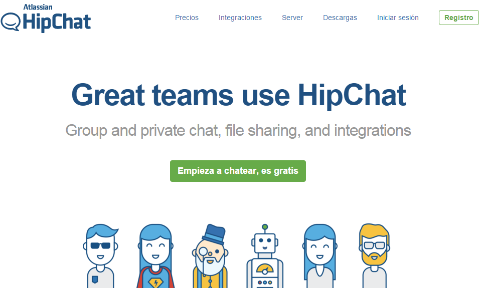 Hipchat-comunicacion-mi-vida-freelance