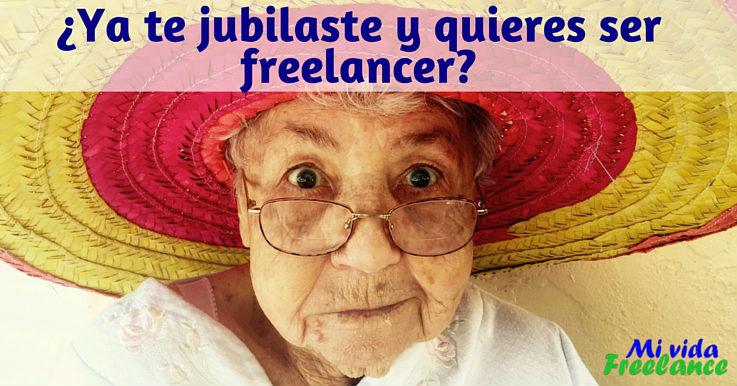 ¿Ya te jubilaste y quieres ganar dinero extra? El trabajo freelance es para ti
