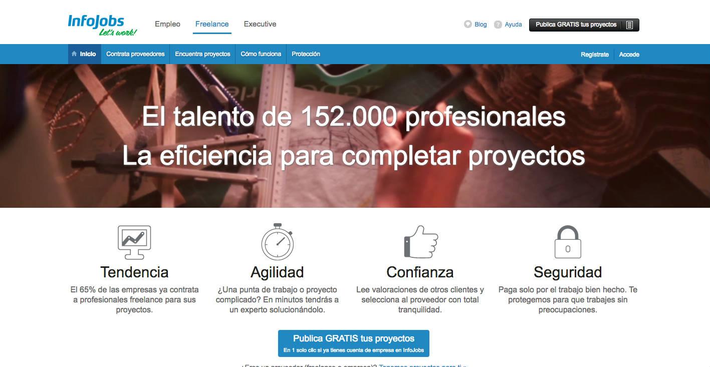 Conoce Infojobs Freelance, la plataforma española que está creciendo rápidamente