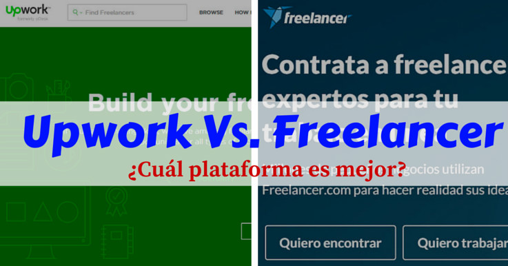 Upwork vs Freelancer: ¿Cuál de estas plataformas freelance es mejor?