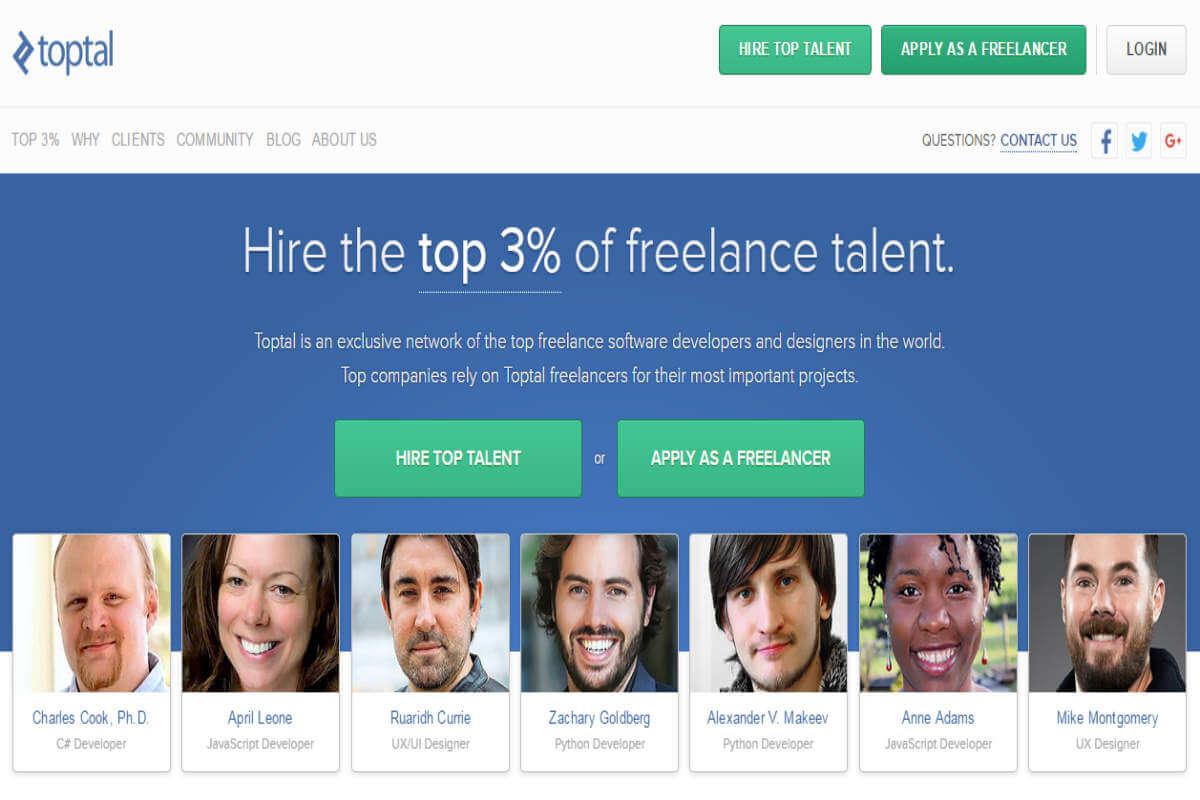 Trabaja freelance en Toptal