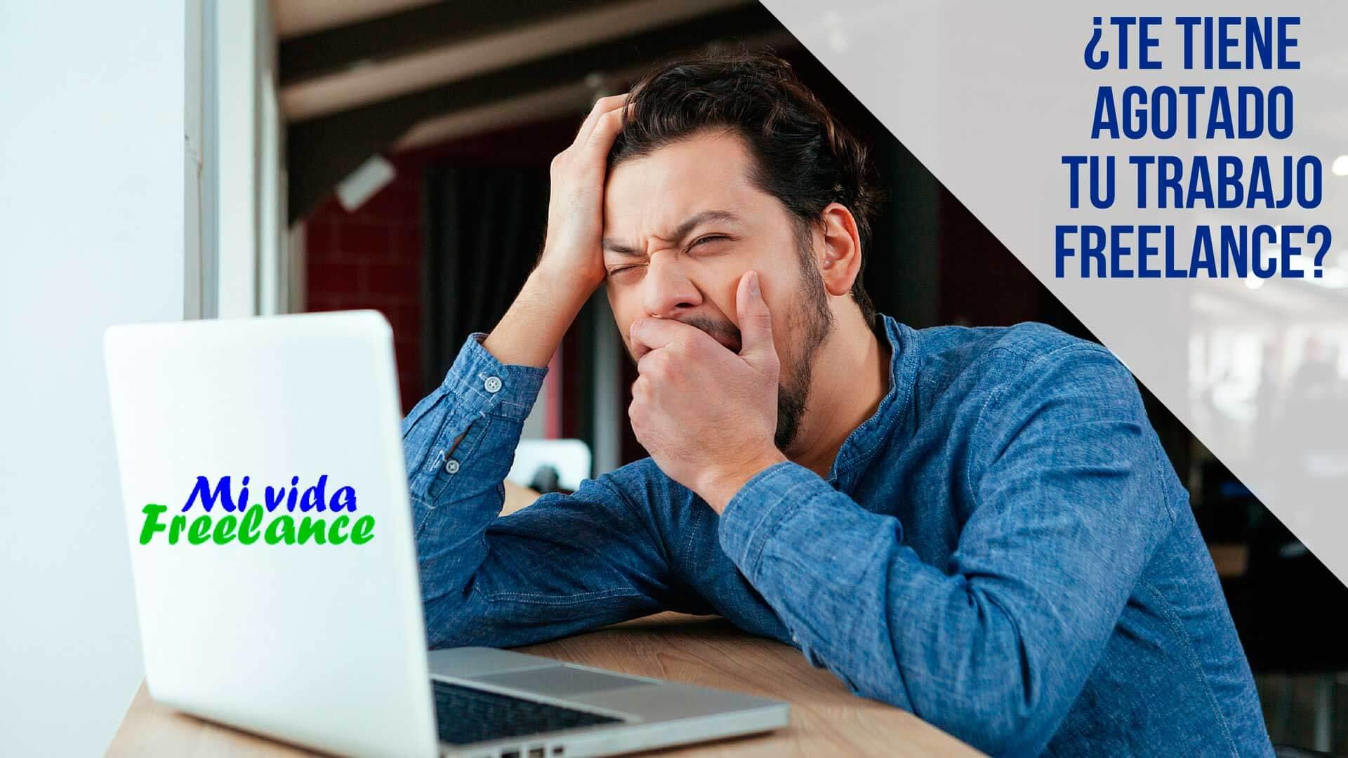 ¿El trabajo freelance te tiene agotado? Recupera tu energía con estos consejos