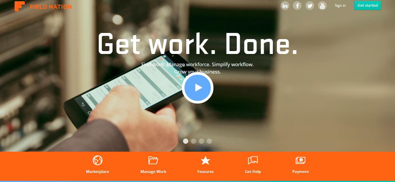 Trabaja en Field Nation, la plataforma que conecta técnicos freelance con empresas