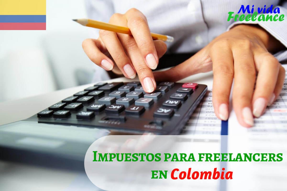 Impuestos para freelancers en Colombia: trámites para registrarse