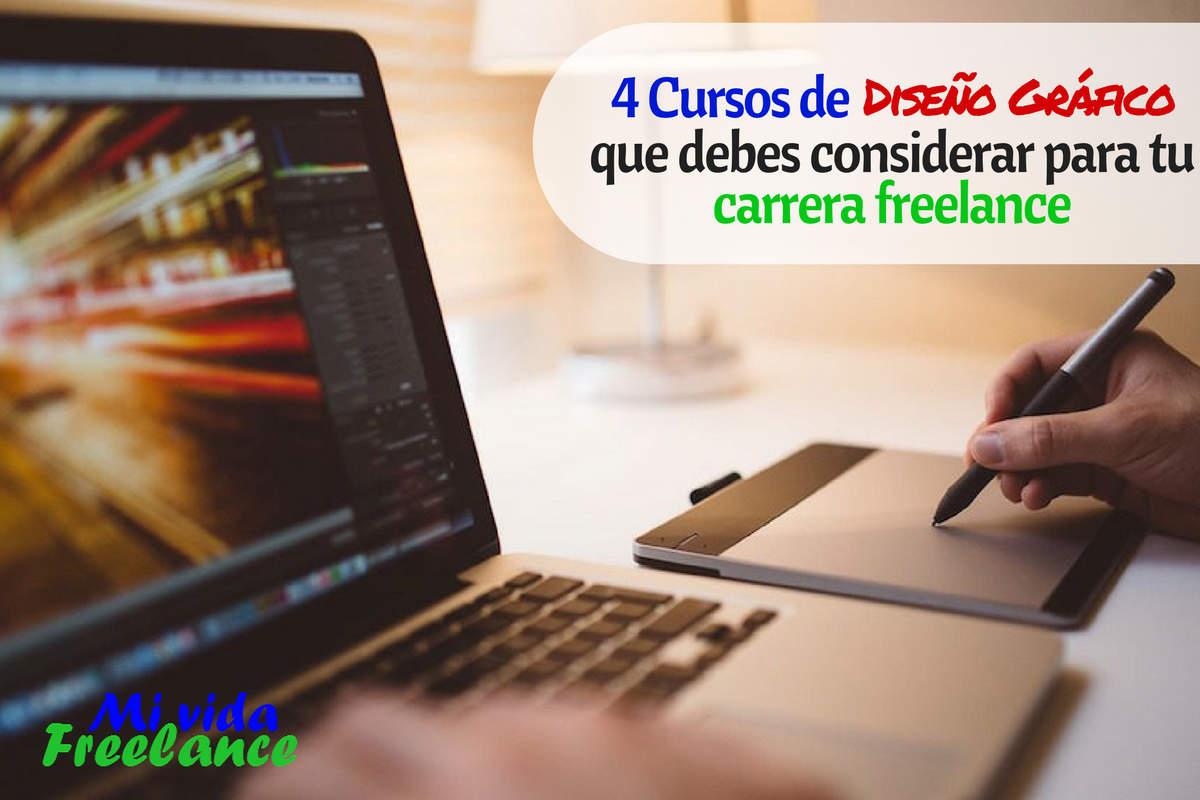 4 Cursos que, como diseñador gráfico freelance, deberías tomar