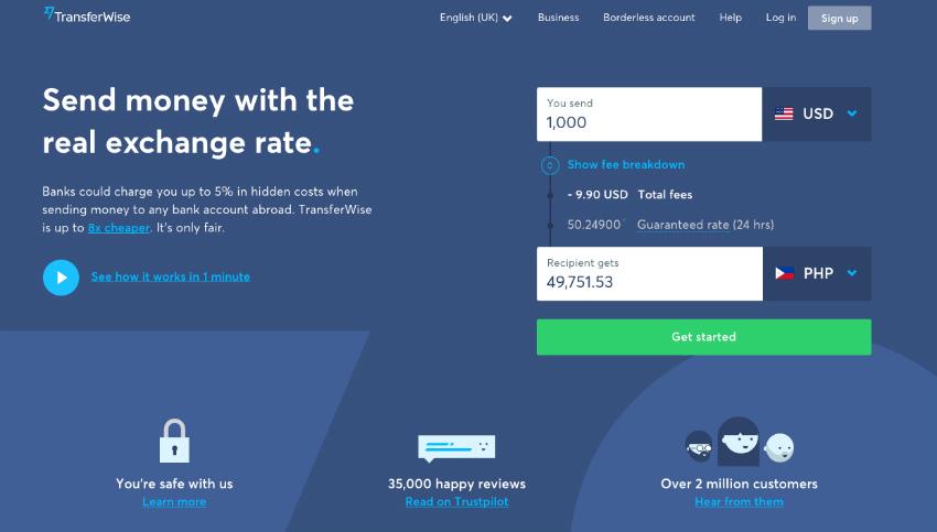 Conoce transferwise, una alternativa para el cambio de dinero a nivel Internacional