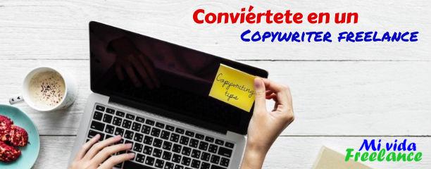 Conviértete en un Copywriter Freelance