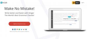 Ginger-corrector-gramatical